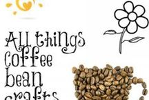 All things coffee beans / Decorating crafting and drinking coffee. I love coffee.