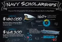 Infographics / Learn more about America's Navy – including careers, what life is like, education opportunities, and more – with fun and informative infographics. / by America's Navy