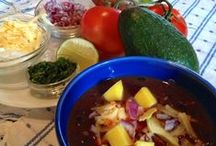 Winter Meals / Comfort food for cold nights from PureFoods Project blog.