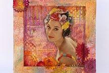 My blog: MixedMedia, Tutorial, DIY, ArtJournal