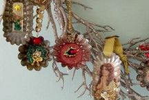 A VERY MERRY CHRISTMAS TO EVERYONE / NEW & VINTAGE DECORATIONS / by CAKE FOLLIES