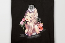 My Pixel Glamour Shop / Illustrations by Melissa Brunet available on Society6 products / by Melissa Brunet