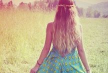 Inner Hippy / Sometimes I wish I was a hippy... / by Julia Wright