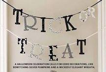Halloween Ideas / by Tiffany Garcia