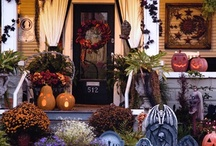 Halloween (my fav) / My favorite holiday to decorate for. Every year I add more and more.