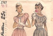 vintage sewing patterns / by Annie Belle