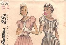 vintage sewing patterns / by Annie Belle