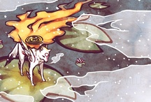 Okami / I love Okami and Okami-den.  If you enjoy the Legend of Zelda give this game a chance! / by Brandi Williams