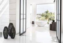 -{ bathroom }- / Beautiful bathrooms