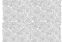 Machine Quilting Patterns I love / by Ann Ferguson