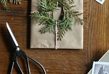 -{ gift wrap }- / Beautiful gift wrapping ideas