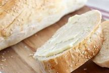 I like Bread and Butter, I like Toast and Jam.  / Homemade breads and butters / by Kerri Rayford