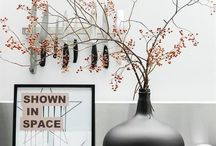 -{ styled & vignettes }- / Interior design, beautiful vignettes, well styled tables capes, etc