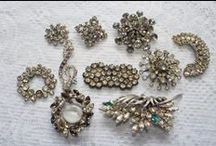 Vintage Costume Jewelry / Most of these are little treasures that I have picked up along the way & also finds on the Internet that I only wish I owned. Enjoy looking :)
