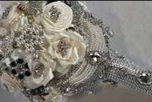 Alternative/Elegant/Whimsical Bridal Bouquets / For brides who think outside the box & want something very different.