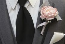 Groom/Groomsman / We want our men to look sharp and shine on that special day too!