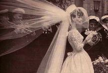 A History of Brides and Grooms / Elegance of days gone by. These dresses/brides are the epitome of loveliness and the grooms are quite dashing!