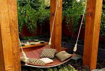 -{ outdoor rooms }- / Pavilions, outdoor lounges and entertainment areas