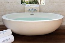 -{ outdoor bath & shower }- / Outdoor bathing tubs and showers