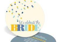 Bridal Shower / Fun ideas to celebrate the bride.