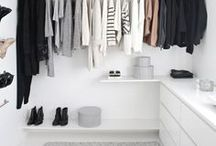 Divine Dressing Room Interiors / Interior design inspiration for dressing rooms. Fabulous spaces for clothes, makeup and general girliness.