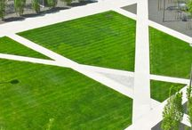 -{ landscape architecture }- / Landscape architecture and public spaces