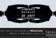 Offre Spéciale 50 Nuances de Grey / Mesdame offre spéciale en partenariat avec le Mégaram de Bordeaux avec la sortie très attendue du film, on en profite également avec le coffret spéciale et limité de vernis OPI