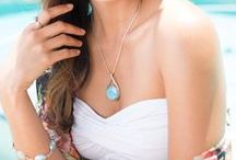 Larimar pendant as a easy-to-wear and yet classy jewelry