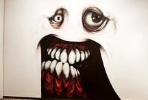 Spray Paint the Walls/ Bomber/Con Pulverizador / Graffiti, Street Art / by Jean-Claude Delettrez