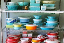 Vintage I Have Hoarded / Pyrex, kitchenware, clothes, etc. that I have found whilst treasure hunting.