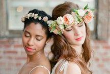 Miljövänliga Skönhetstips / Tips på hårfrisyrer och sminkningar till din bröllopsdag! Tänk på att välja miljövänliga hårstylingsprodukter och ekologiskt smink med omtanke om människor och miljö. [Eco-friendly Wedding Hair And Makeup.]
