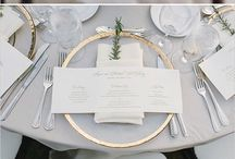 R E C E P T I O N   D E T A I L S / Wedding reception decor, paper, florals and spaces
