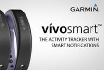 vivosmart / vivosmart is an activity tracker with smart notifications. It displays steps, calories, distance and features vibration alerts for calls, texts and emails from your smartphone.