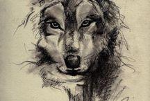 Tattoo - Wolf