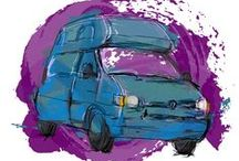 Dream campervan / Our dream campervan is a 92 - 94 Volkswagen California Club with a Westfalia interior.  Just putting it out there - so the universe can help bring her to us :-)!