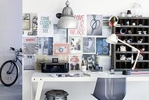 W O R K S P A C E S / Inspiration boards, studios and workspaces that inspire me. / by Rachel Jones // Black Eiffel