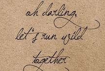 words. / i love beautiful words. / by Megan Hudson