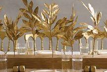 non-floral centerpieces / by Munaluchi Bride