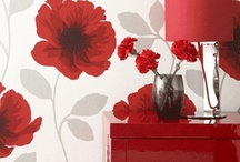 Red Home Ideas / by ~ Tangerine Doll ~