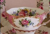 Tableware / Antique - Vintage - Kitsch ...  / by ~ Tangerine Doll ~
