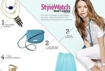 People StyleWatch / We're taking the latest fashion trends and bringing them right to you, hand-picked by the editors of People StyleWatch Magazine. / by JCPenney