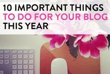 Blogging / by Nina Gonzalez