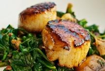 Ѽ Mains - I Seafood, I Eat It / by Deanna Huff