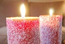 Candles, Flickering Firelight..