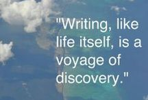 Words To Write By / Words of insight and inspiration which support the Brave Writer philosophy.