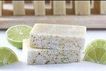 Homemade Soap / Artisan soaps always have such lovely fragrances... Wouldn't it be fun to create your own signature scents, for personal use and for gifts? I think so... and someday I might actually get around to trying to create my own!