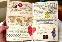 Journaling / Art Jouraling, Nature Journaling, Gratitude Journaling, Personal Journaling, Smash Books, Lapbooks, Commonplace Books, Quote Books...it's all here!