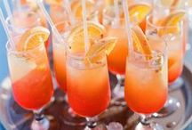 wedding drinks and cocktails / perfect drinks for your wedding day.
