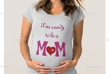 iCraftCafé maternity t-shirts /  A board for women who are expecting a baby designed by ArianeC (me)