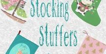Stocking Stuffers / Some ideas to fill out the stockings in your family . There is something for everyone on this board :)